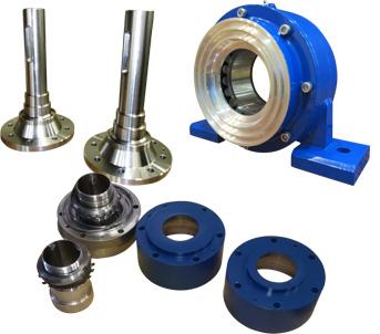 wet drum magnet components